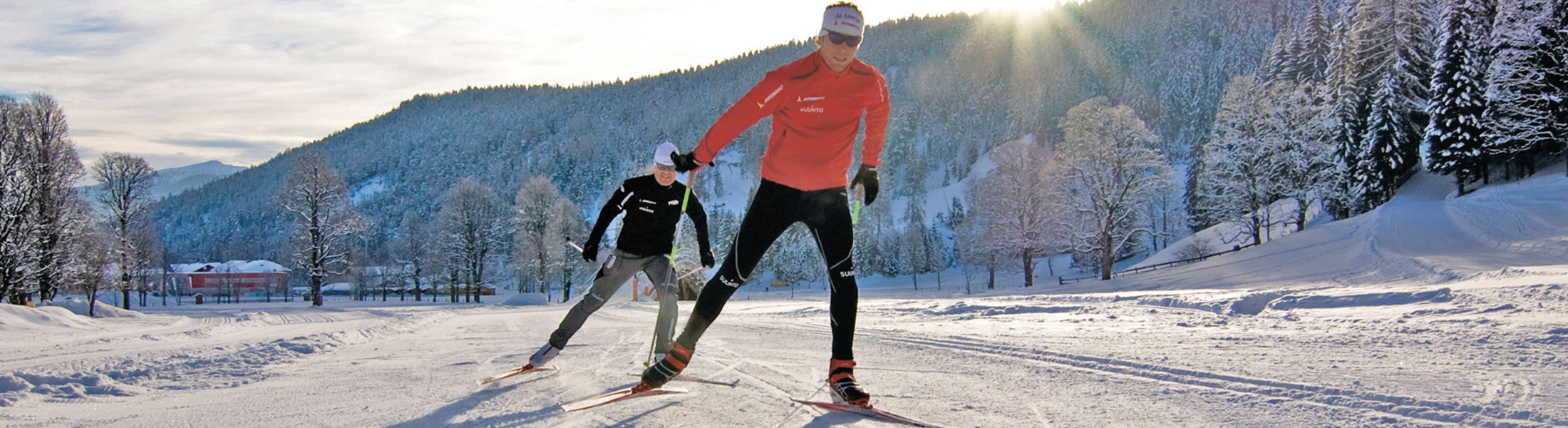 Cross country skiing lessons